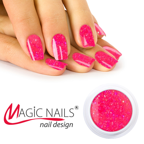 UV gel Neon Disco - Pink - 5 ml