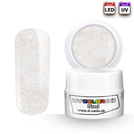 Barevný LED Gel a UV Gel - 017 - 5ml
